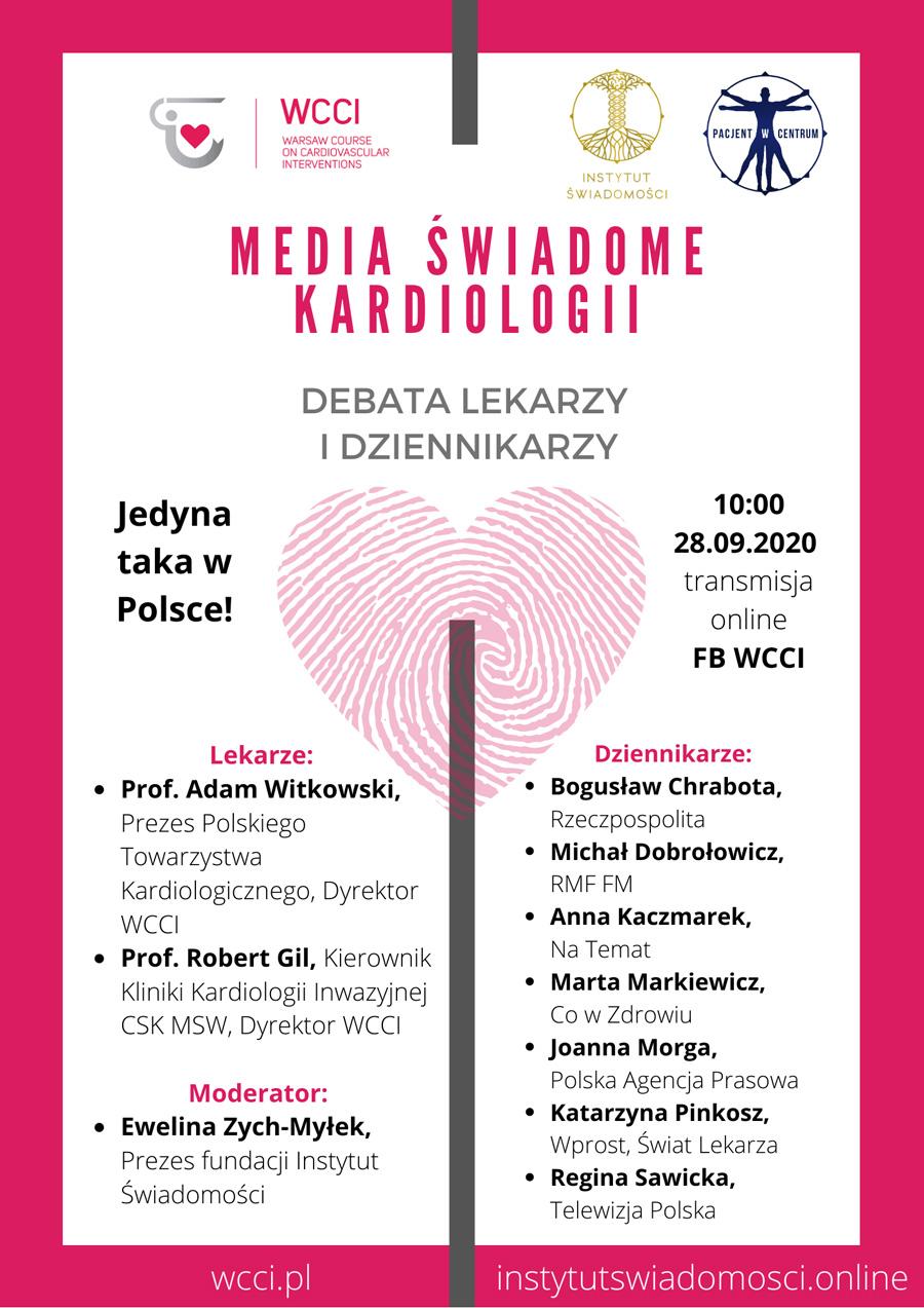 media świadome kardiologii